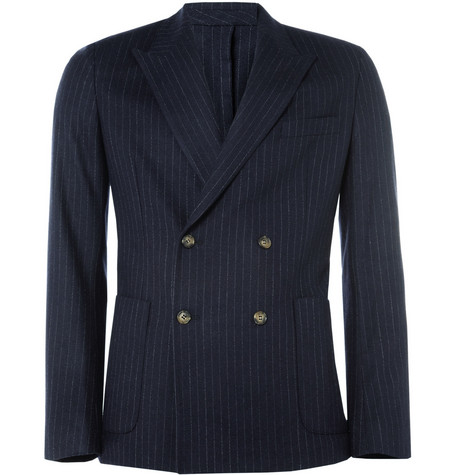 Ami Slim-Fit Wool and Cashmere-Blend Suit Jacket