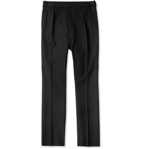 Lanvin Wool-Blend Tailored Trousers