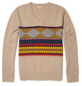 Burberry Brit Templeton Patterned Lambswool Sweater