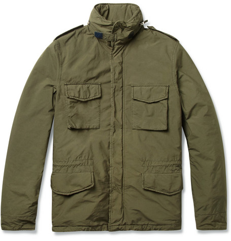 Aspesi Field Jacket with Detachable Quilted Lining