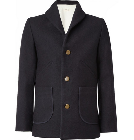 Folk Blakey Wool-Blend Coat