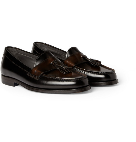 Lanvin Tasselled Leather Loafers