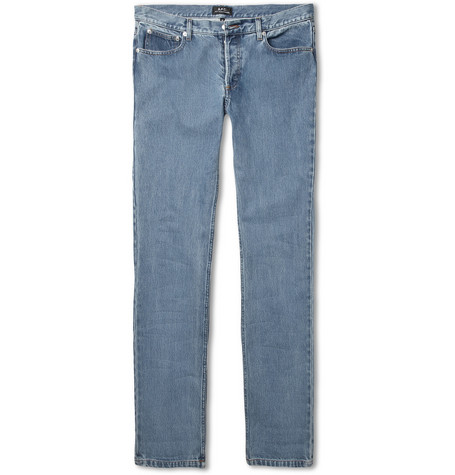 A.P.C. Petit New Standard Slim-Fit Washed-Denim Jeans