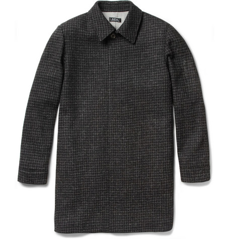 A.P.C. Harris Slim-Fit Wool Tweed Overcoat