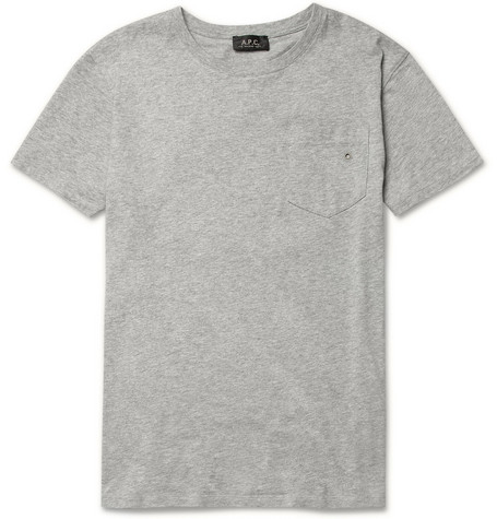A.P.C. Cotton Crew Neck T-Shirt