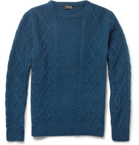 A.P.C. Cable-Knit Wool Sweater