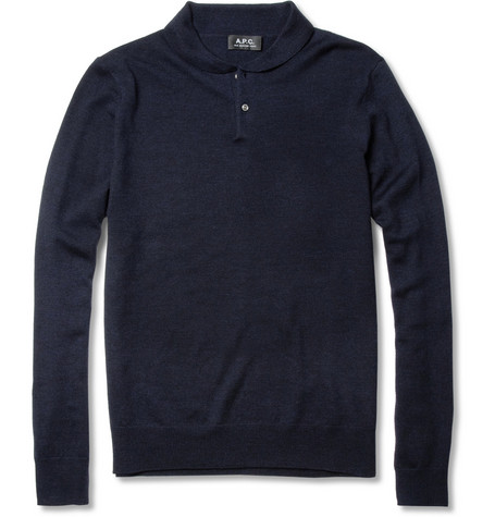 A.P.C. Fine-Knit Wool Sweater
