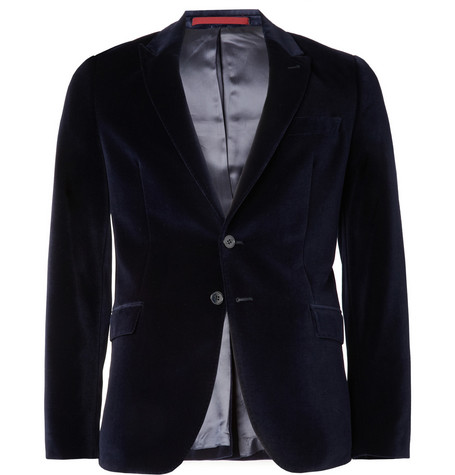 PS by Paul Smith Velvet Blazer