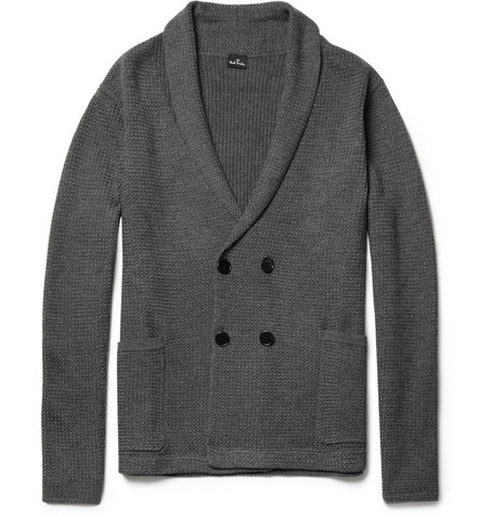 PS by Paul Smith Double-Breasted Wool Cardigan