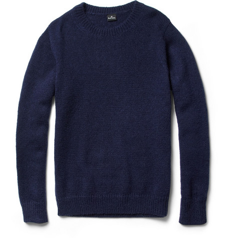 PS by Paul Smith Wool and Mohair-Blend Sweater
