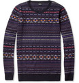 PS by Paul Smith - Fair Isle Knitted Crew Neck Sweater