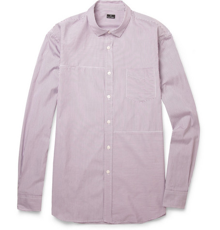 PS by Paul Smith Striped Panelled Cotton Shirt