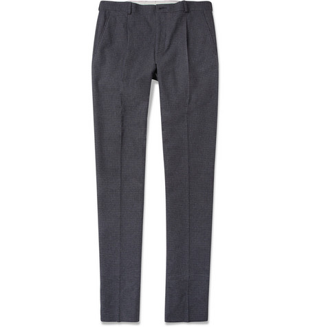 PS by Paul Smith Pleated Houndstooth Trousers
