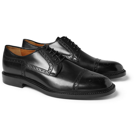 Gucci Cezanne Leather Brogues