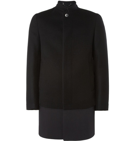 Valentino Panelled Wool Coat