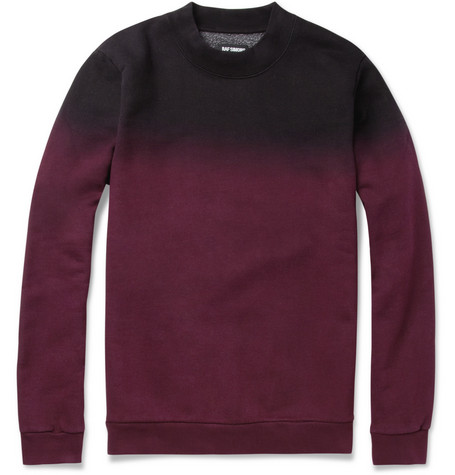 Raf Simons Ombre Cotton-Blend Sweater