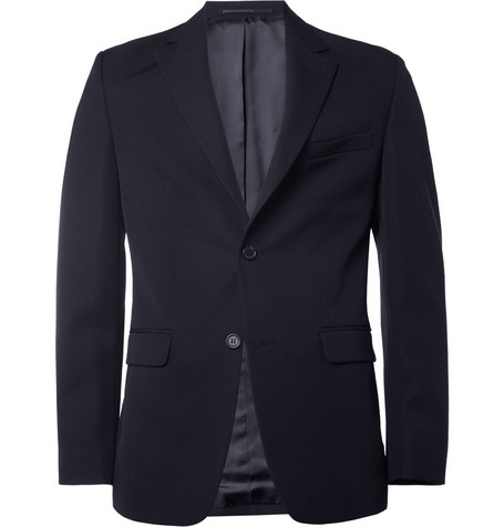 Raf Simons Slim-Fit Wool-Twill Suit Jacket