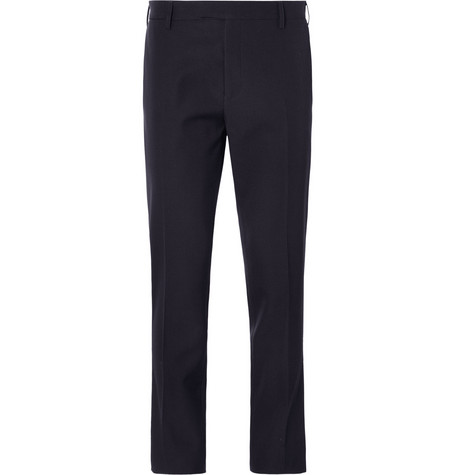 Raf Simons Slim-Fit Wool-Twill Suit Trousers