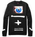 Raf Simons Printed Cotton-Jersey Sweatshirt