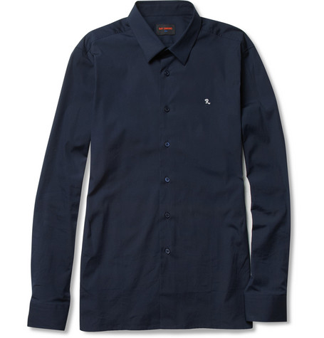 Raf Simons Slim-Fit Cotton-Blend Shirt