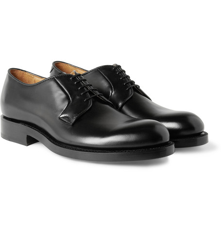 Raf Simons Leather Derby Shoes
