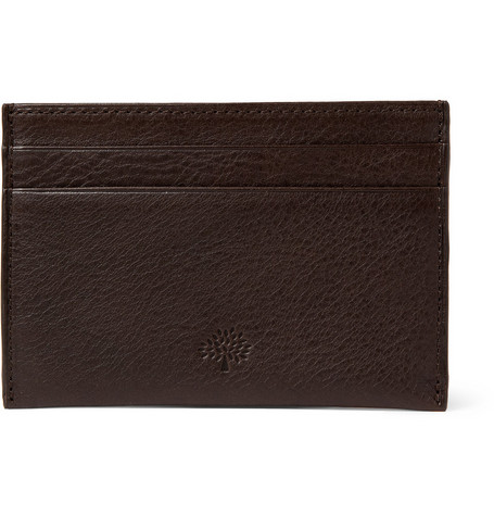 Mulberry Full-Grain Leather Card Holder