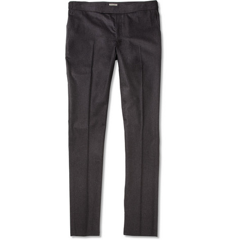 Bottega Veneta Straight-leg Wool and Angora-Blend Trousers
