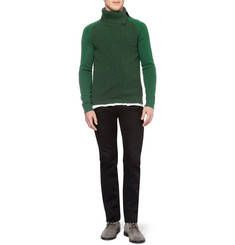 Bottega Veneta Wool and Cashmere-Blend Rollneck Sweater