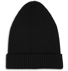 Bottega Veneta Ribbed Wool-Blend Beanie Hat