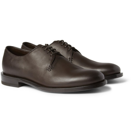 Bottega Veneta Leather Derby Shoes
