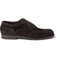 Bottega Veneta York Suede Brogues