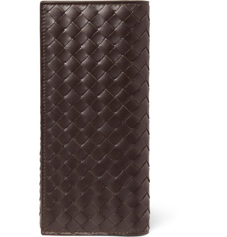 Bottega Veneta Intrecciato Leather Chest Pocket Wallet