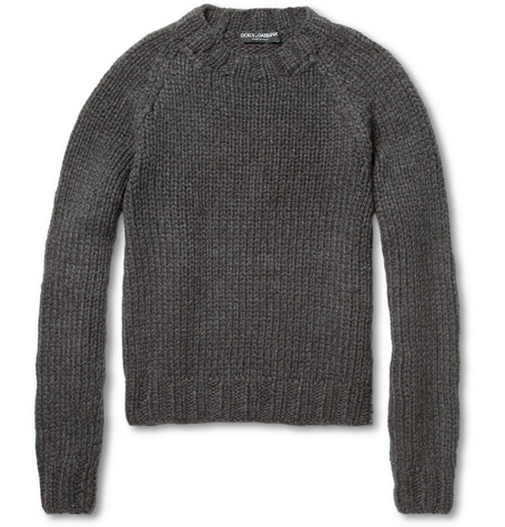 Dolce & Gabbana Loose-Knit Cashmere Sweater
