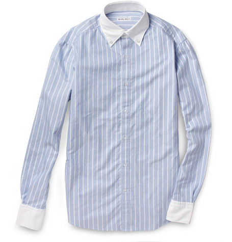Michael Bastian Contrast Button-Down Collar Oxford Shirt