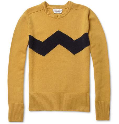 Michael BastianCashmere Crew Neck Sweater