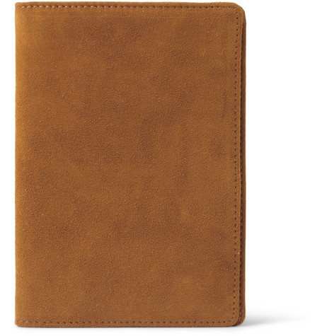 WANT Les Essentiels de la Vie Pearson Suede Passport Cover