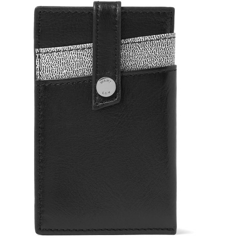 WANT Les Essentiels de la Vie Kennedy Money Clip Leather Card Holder