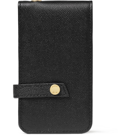 WANT Les Essentiels de la Vie Newbery Full-Grain Leather iPhone 4 Case