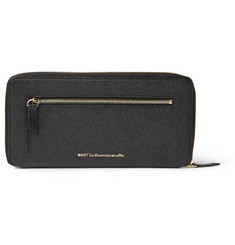 WANT Les Essentiels de la Vie Liberty Textured-Leather Travel Wallet