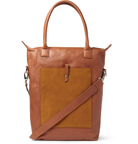 WANT Les Essentiels de la Vie Orly Leather and Suede Tote