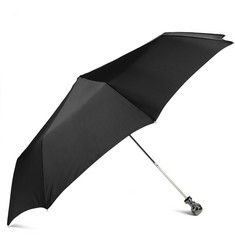 Alexander McQueen Skull Handle Collapsible Umbrella