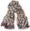 Alexander McQueen - Skull-Print Cashmere and Silk-Blend Scarf