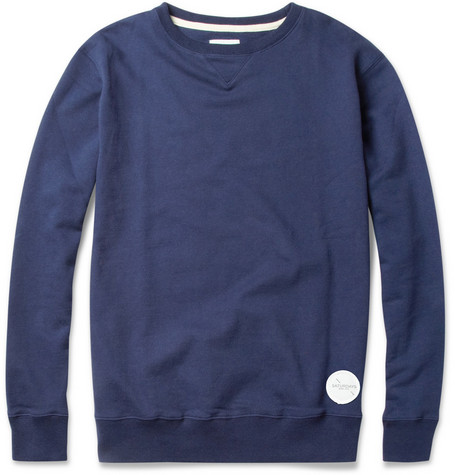 Saturdays Surf NYC Bowery Loopback Cotton-Jersey Sweatshirt