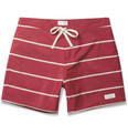 Saturdays NYC - Horizon Striped Mid-Length Swim Shorts