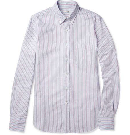Slowear Glanshirt Slim-Fit Striped Cotton Shirt
