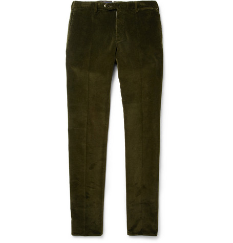 Slowear Incotex Straight-Leg Corduroy Trousers