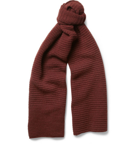 Margaret Howell MHL Ribbed Wool Scarf