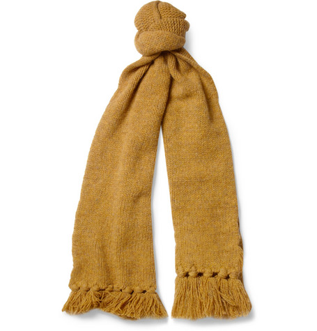 Margaret Howell MHL Knitted Wool Scarf