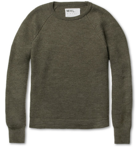 Margaret Howell MHL Ribbed Wool Sweater