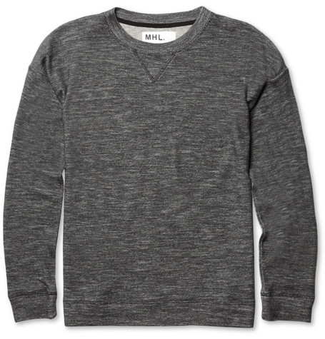 Margaret Howell Cotton and Wool-Blend Sweatshirt
